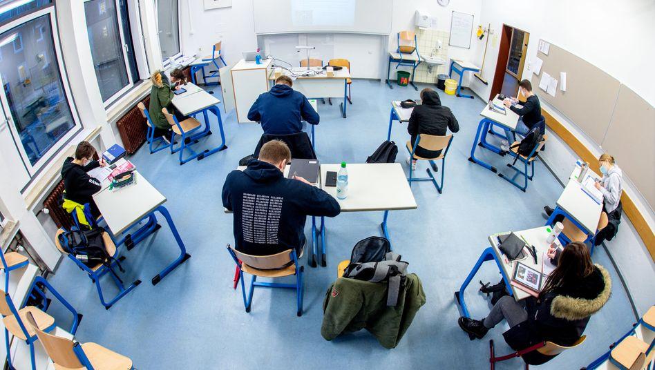 Oberstufenschüler (Symbolbild)