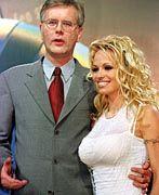 Harald Schmidt und Pamela Anderson