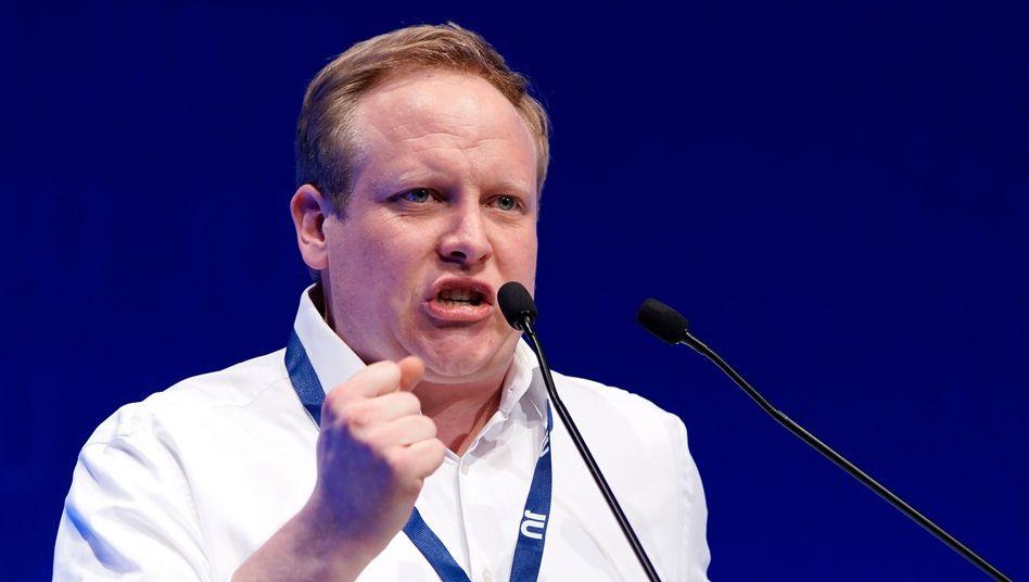 Der neue JU-Vorsitzende Tilman Kuban