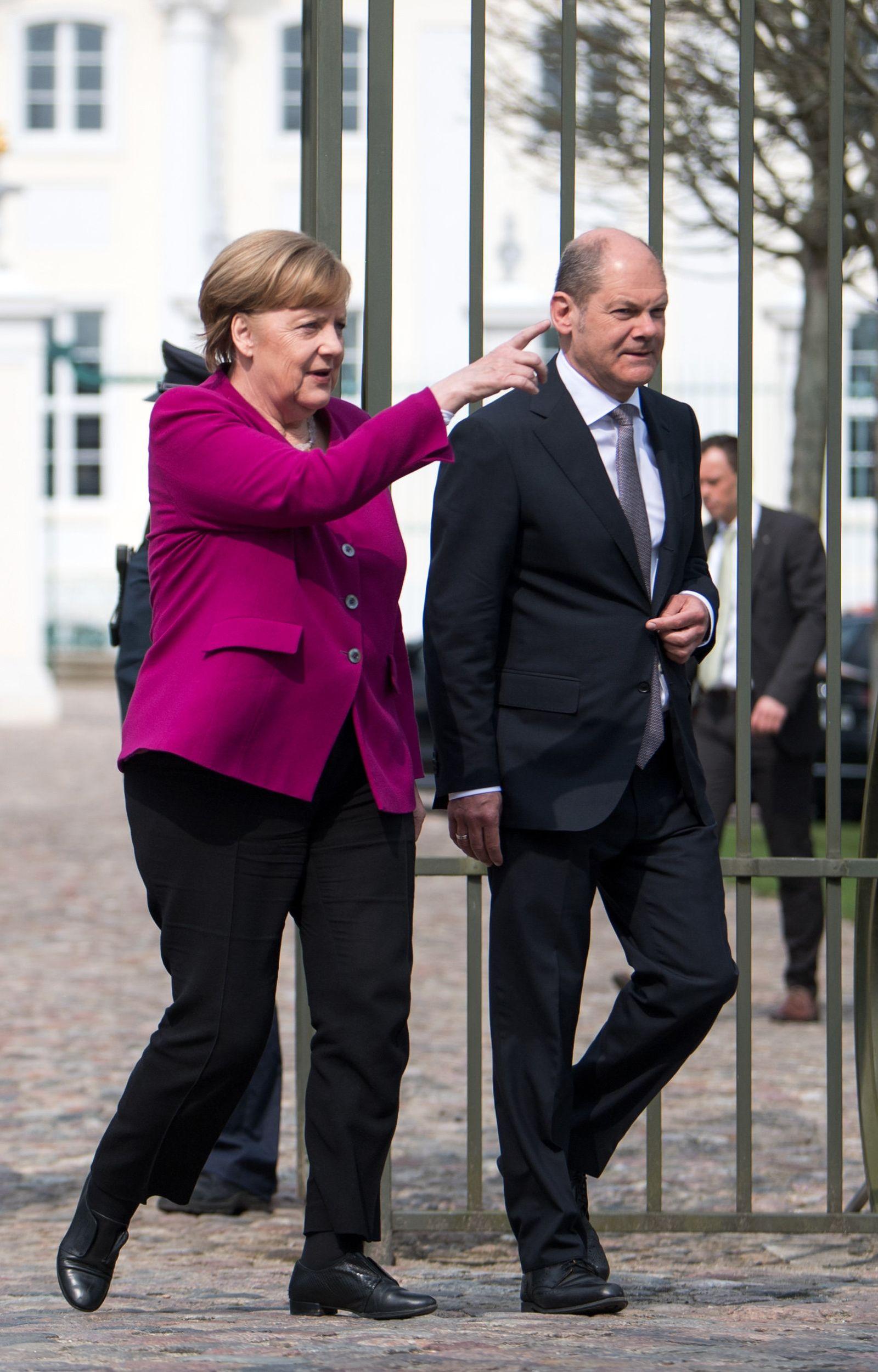 Merkel / Scholz