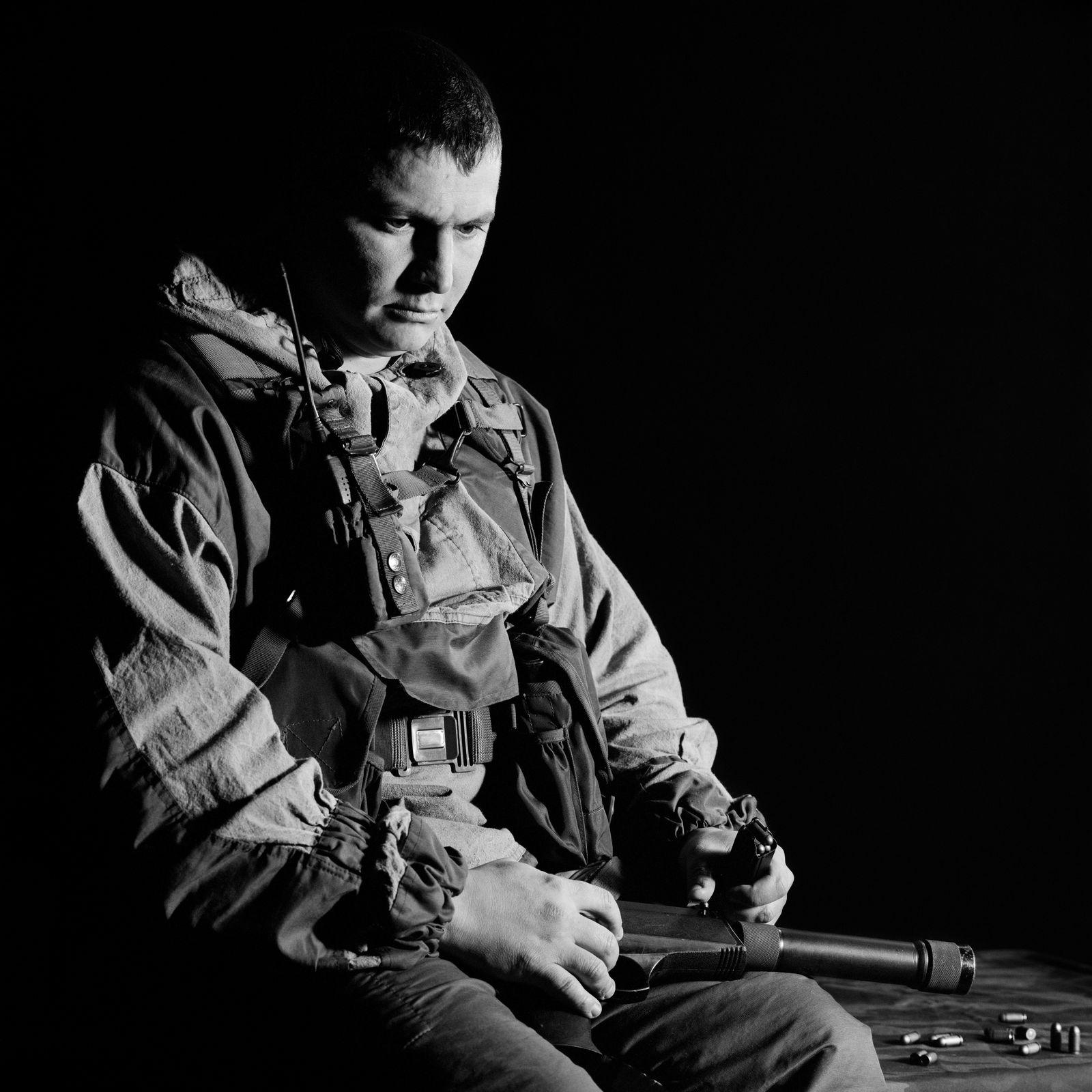EINMALIGE VERWENDUNG Speznas / Sergej Illarionow