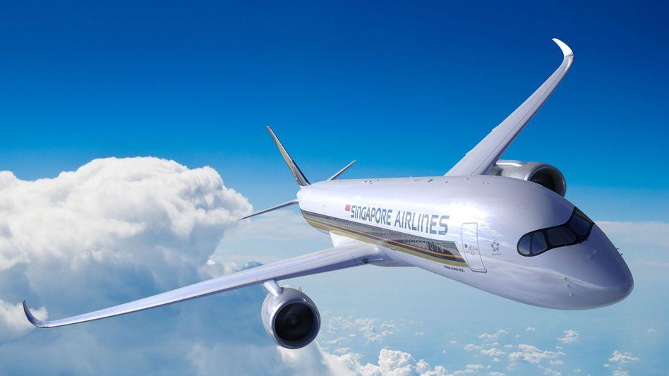Airbus A350-900ULR von Singapore Airlines