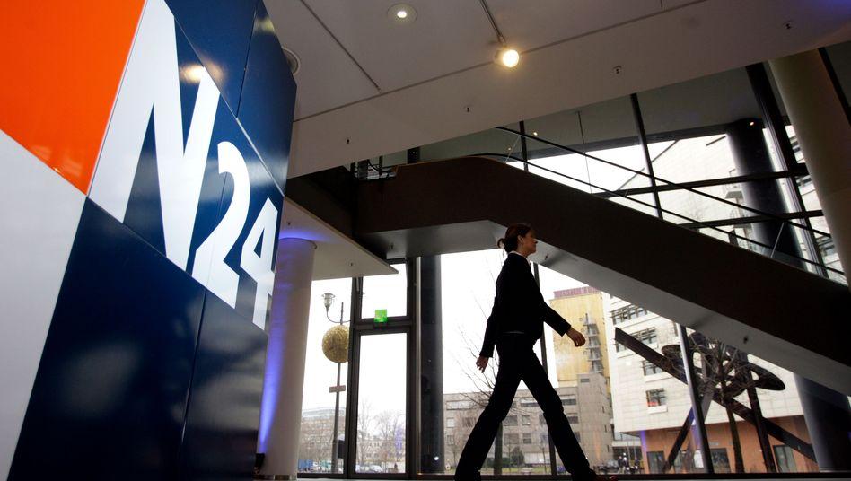 N24-Gebäude in Berlin: Der Sender soll zur Doku-Abspiel-Plattform reduziert werden