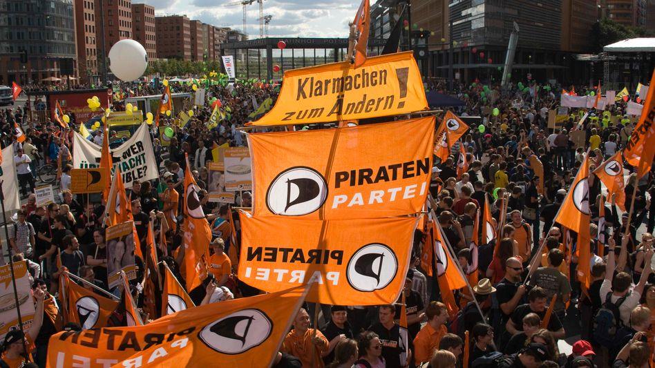 Piraten in Berlin: auf allen Ebenen Politik gestalten