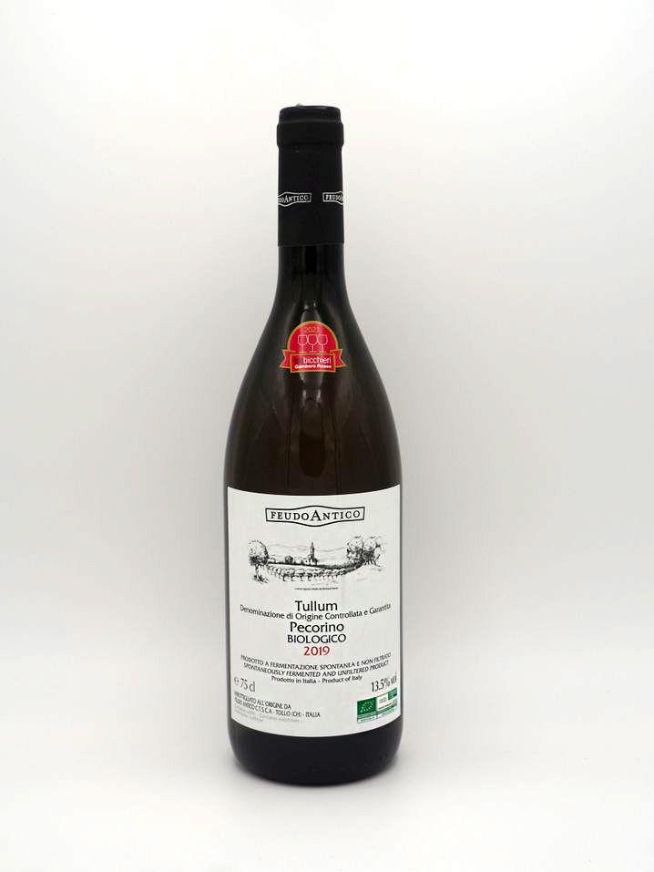 Pecorino zum Trinken: Pecorino Biologico von der italienischen Genossenschaft Feudo Antico, ca. zehn Euro