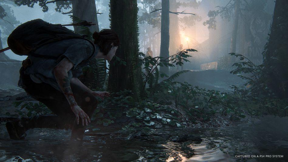 """Szene aus """"The Last of Us Part II"""": Das viel erwartete Spiel erscheint später als geplant"""