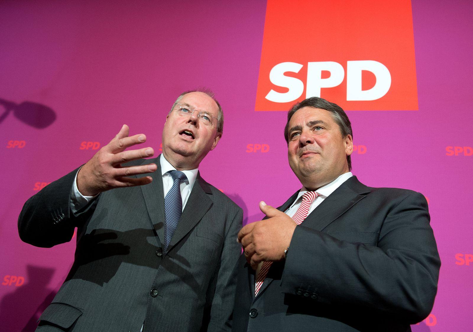 Peer Steinbrück und Sigmar Gabriel