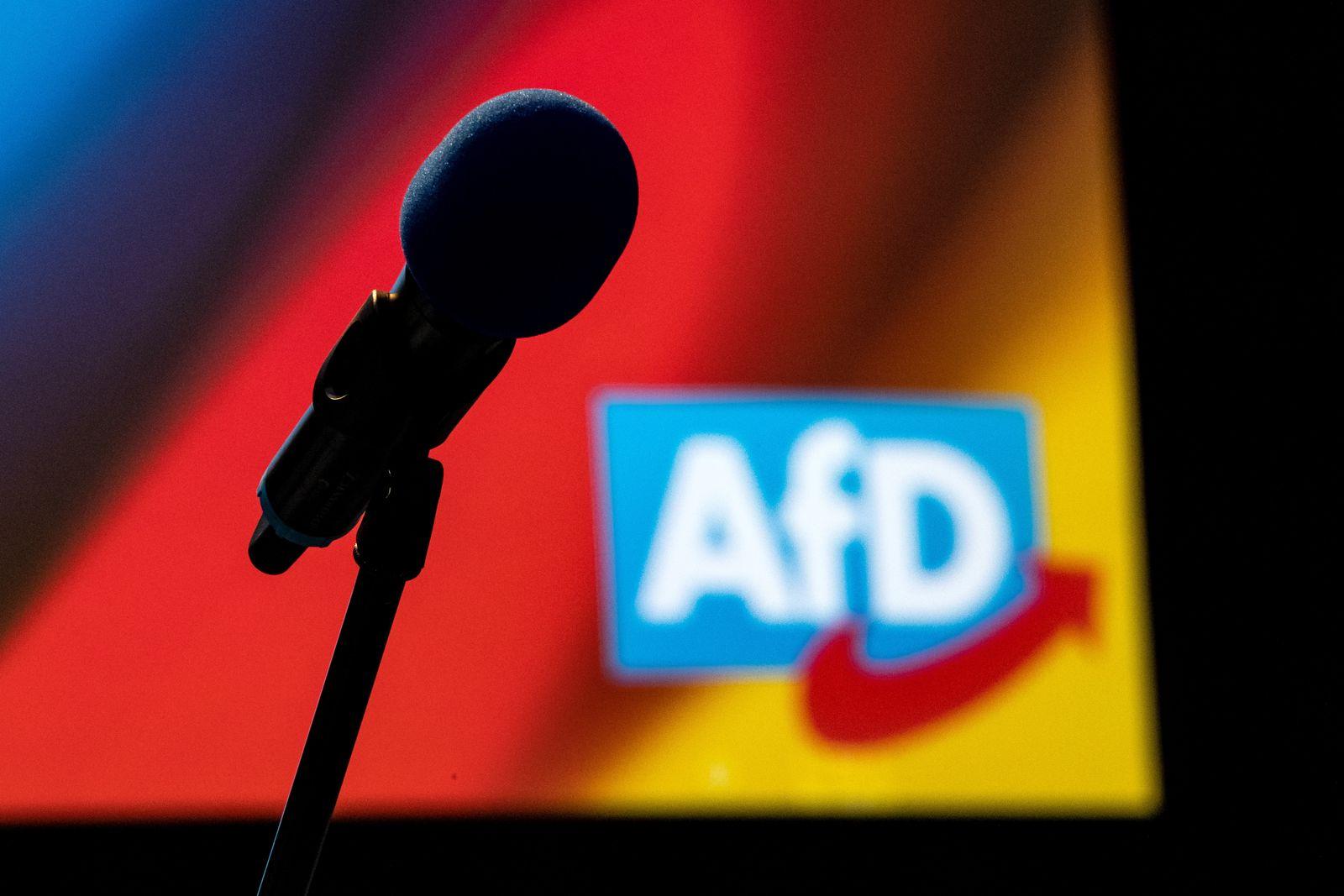 AfD Bundesparteitag - Aufbau