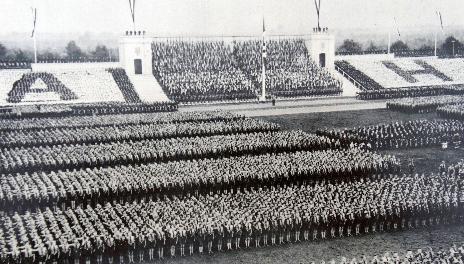 Nazi party Hitler Youth Rally Germany 1937 Nazi party Hitler Youth Rally Germany 1937 PUBLICATIO