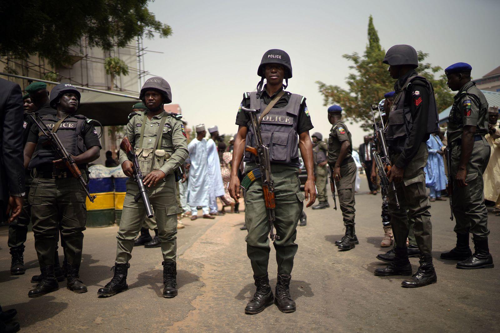 Nigeria Polizei APC Buhari