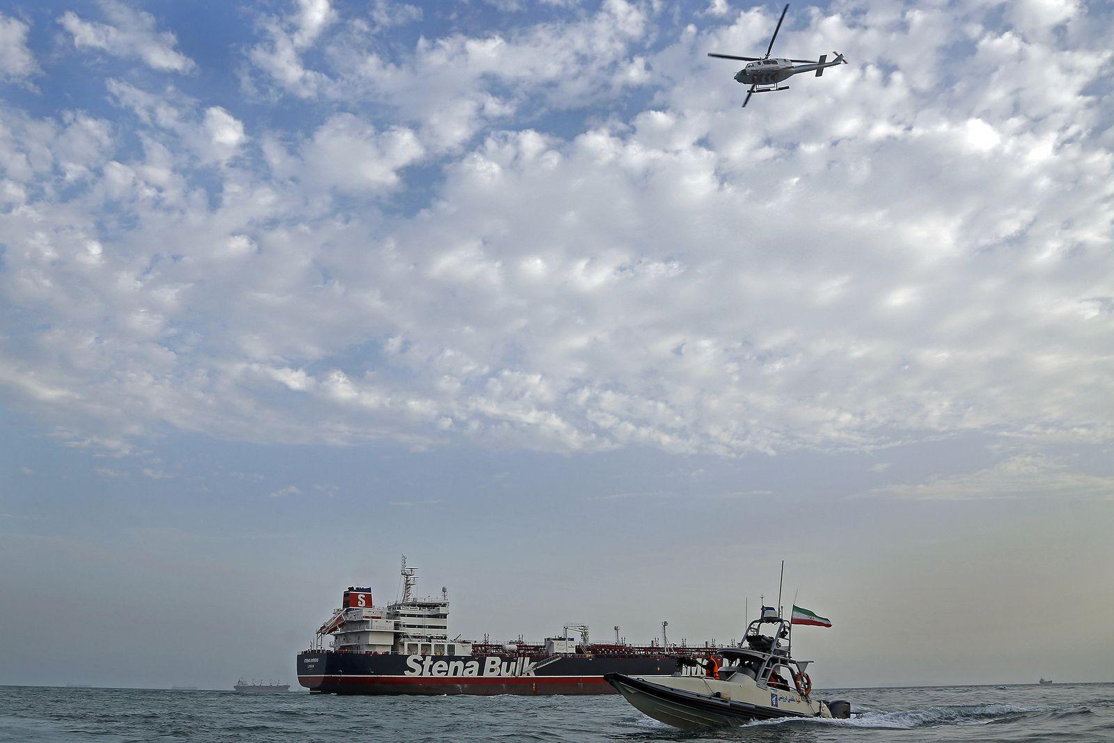Eskalation am Golf - Beschlagnahmung Öltanker