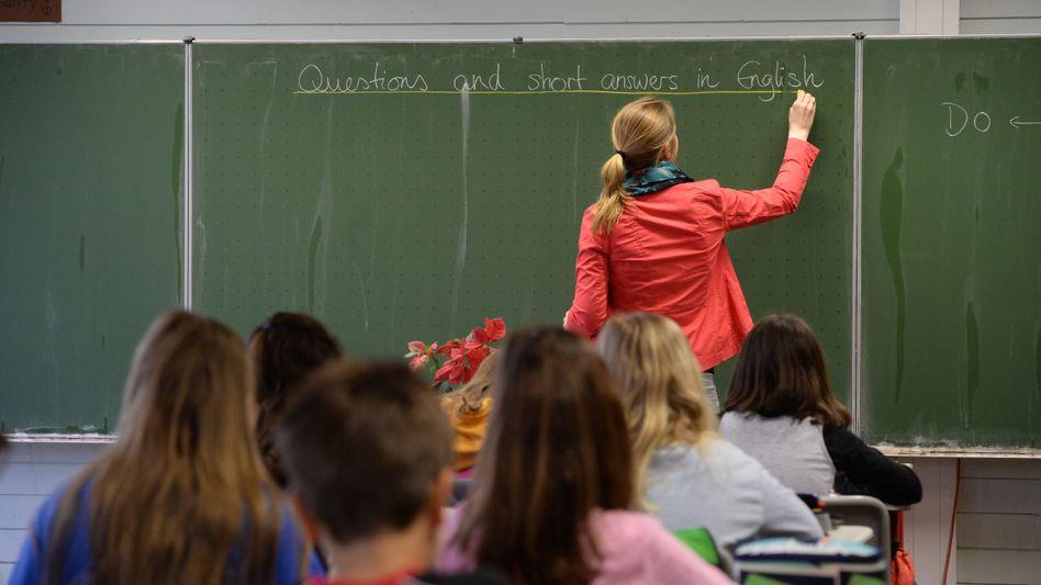 Schüler im Klassenzimmer (Symbolbild)