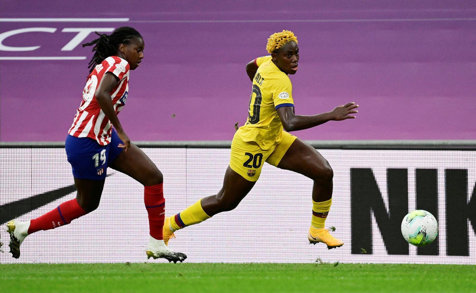 Women's Champions League - Quarter Final - Atletico Madrid v FC Barcelona