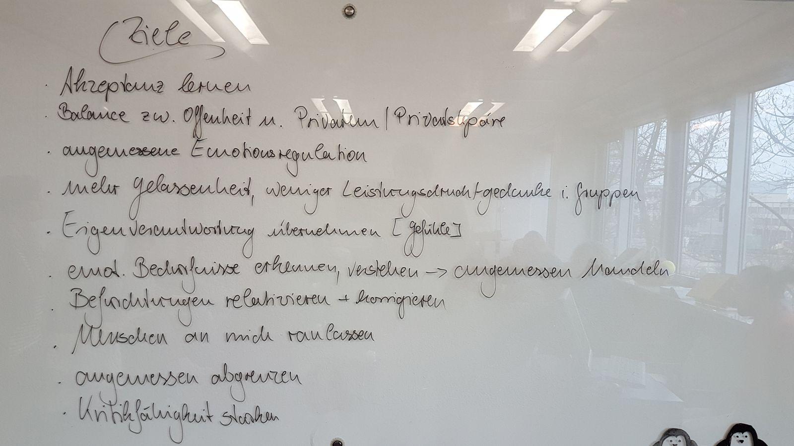 EINMALIGE VERWENDUNG was-macht-angst.de / Die eigentliche Arbeit