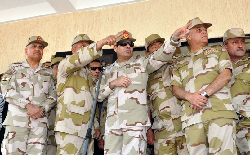 Verfassungsreferendum Ägypten / al-Sisi
