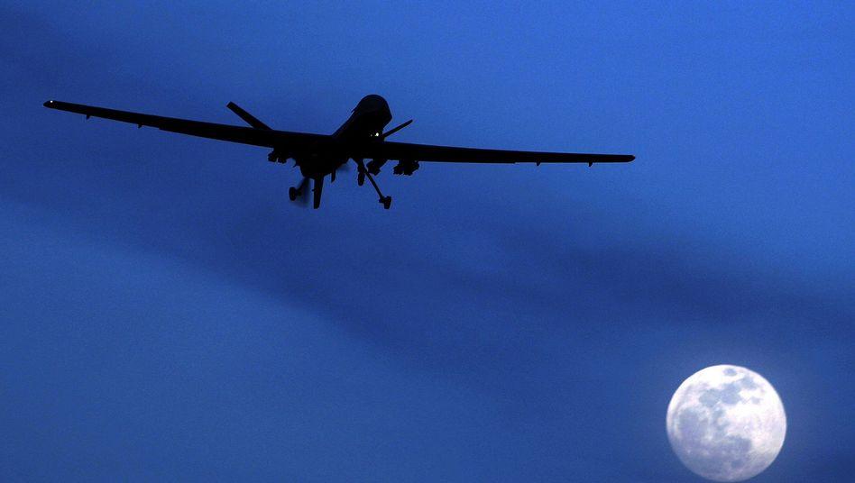 US-Drohne über Afghanistan (Archivbild): Umstrittene Angriffe aus der Luft