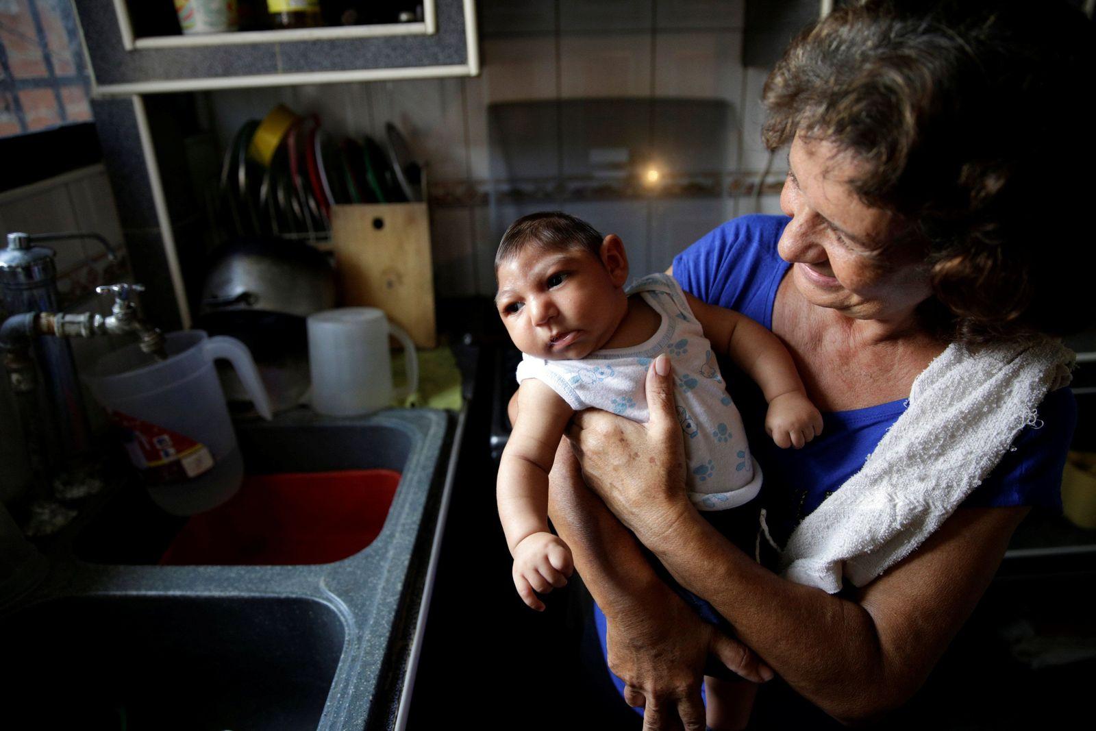 ZIKA VENEZUELA Mikrozephalie