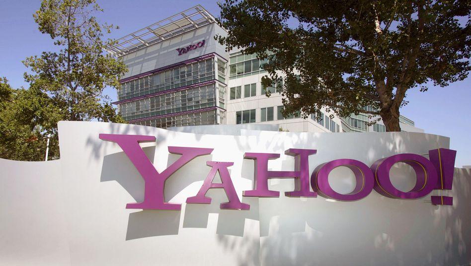 Yahoo-Zentrale in Sunnyvale (Archivbild)