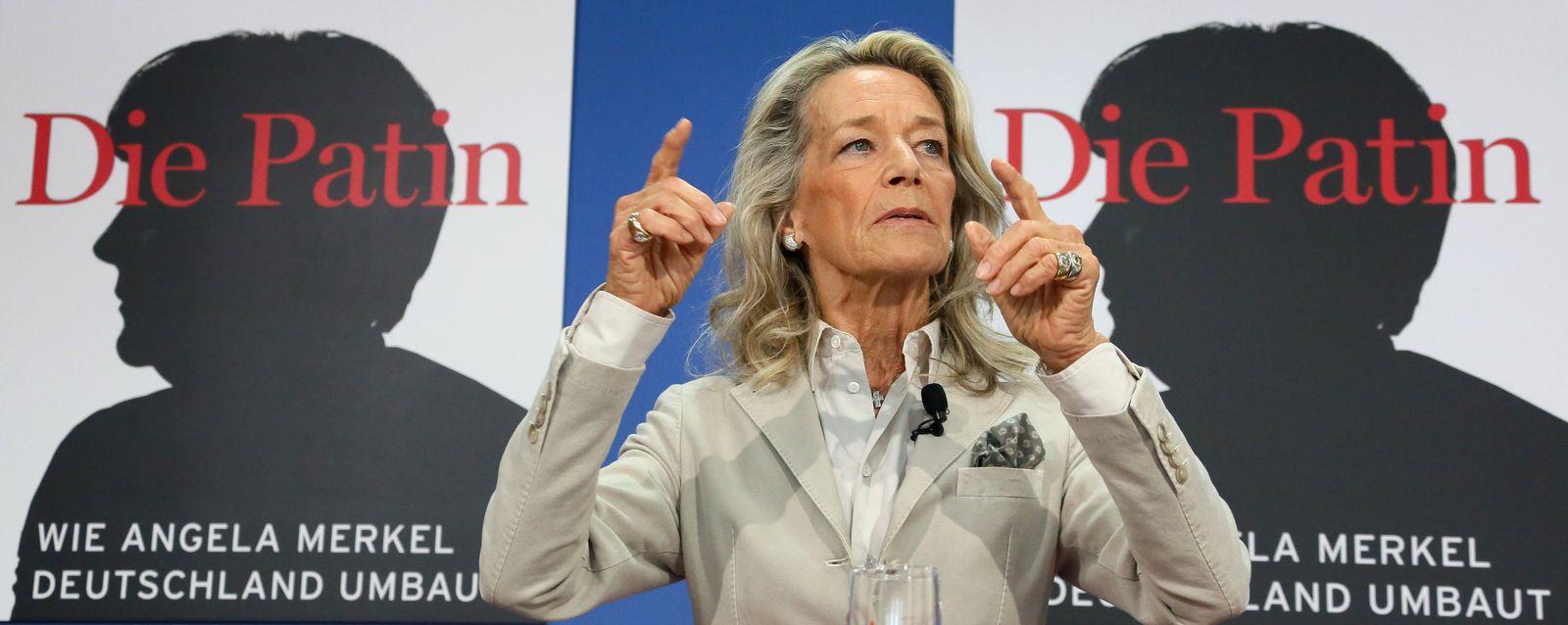 """Buchvorstellung """"Die Patin-wie Angela Merkel Deutschland umbaut"""""""