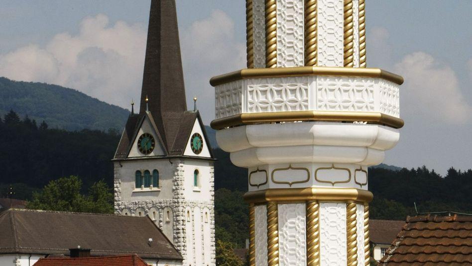 Minarett in der Schweiz: Gegner scheinen sich durchzusetzen