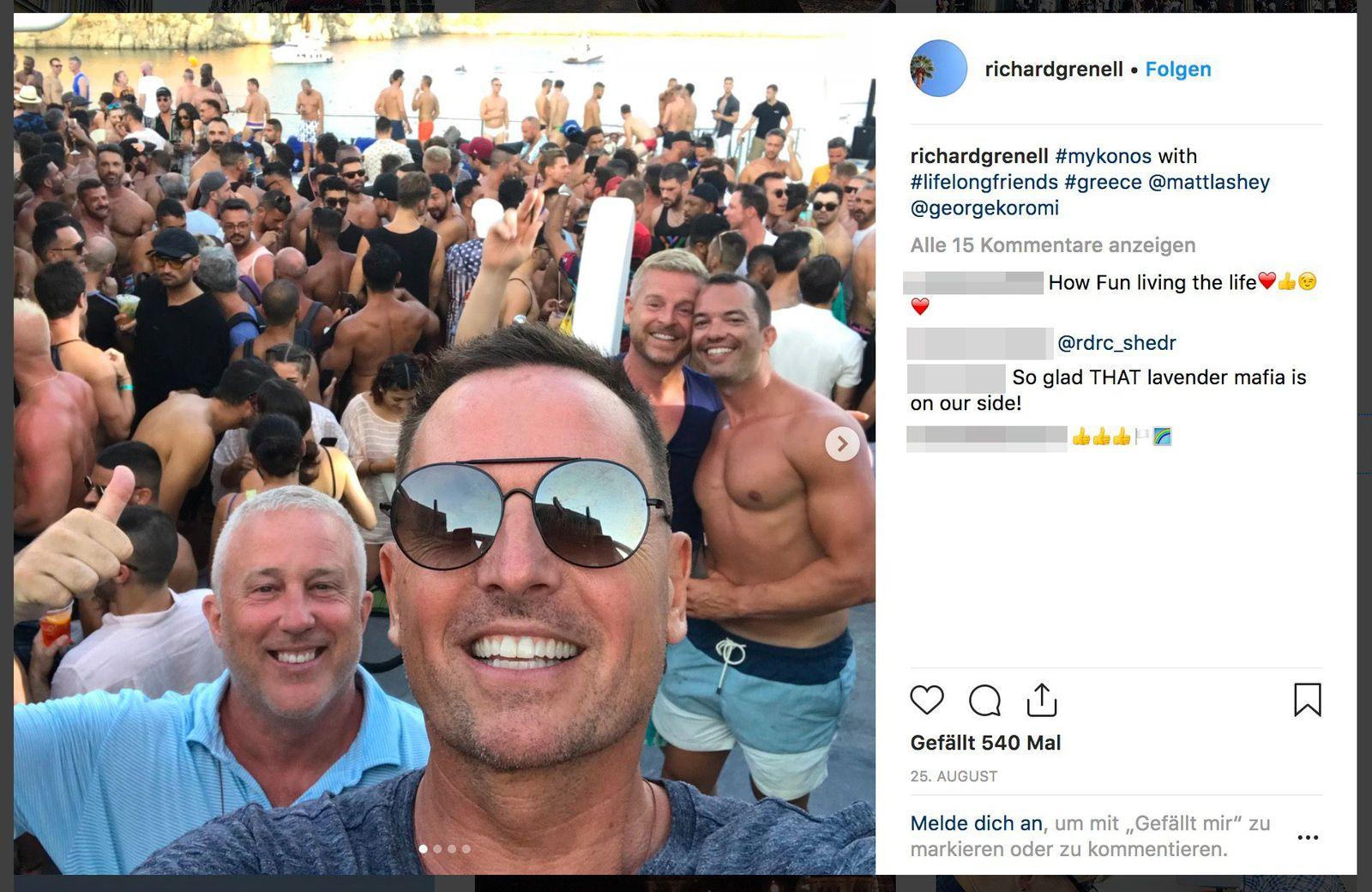 EINMALIGE VERWENDUNG SPIN SP 3/2019 S. 26 Grenell Instagram