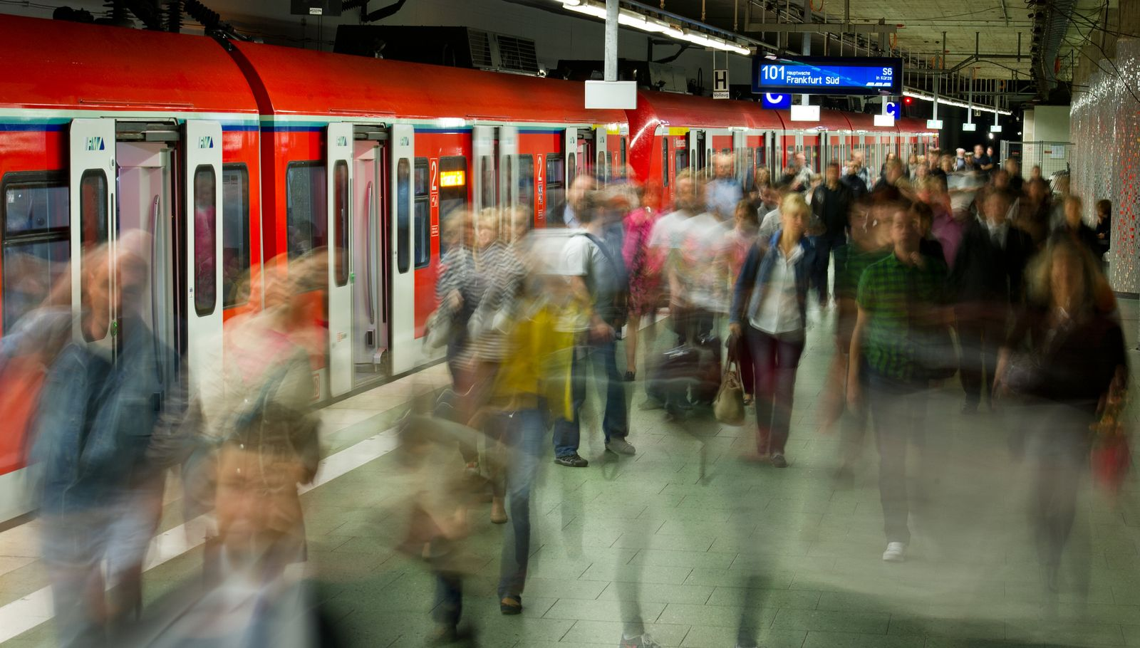 Bahn / Streik