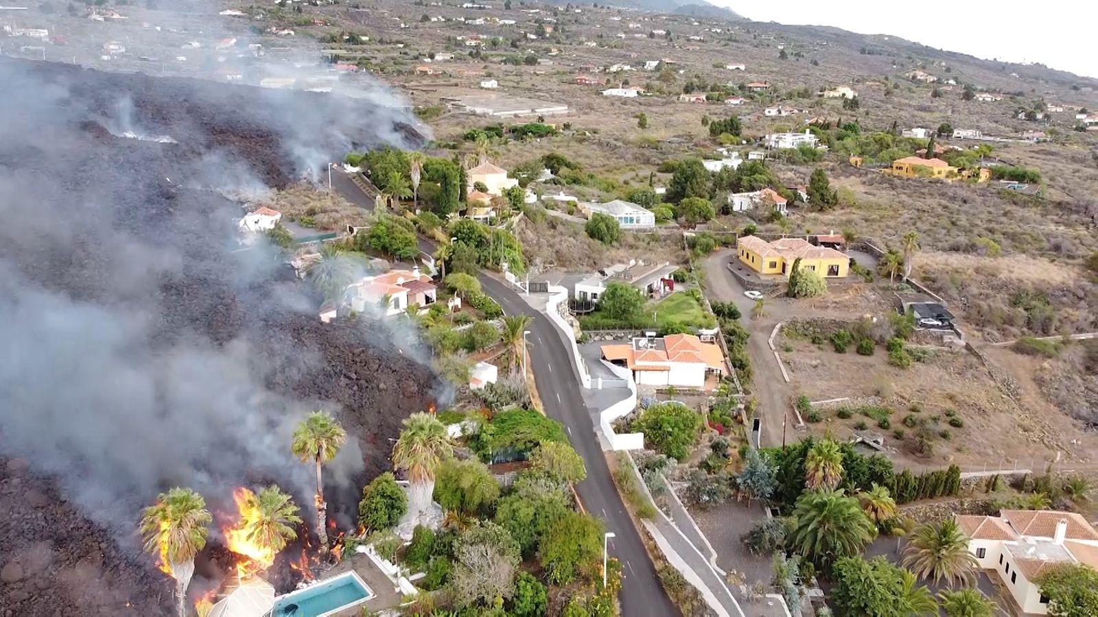 Vulkanausbruch auf Kanareninsel La Palma