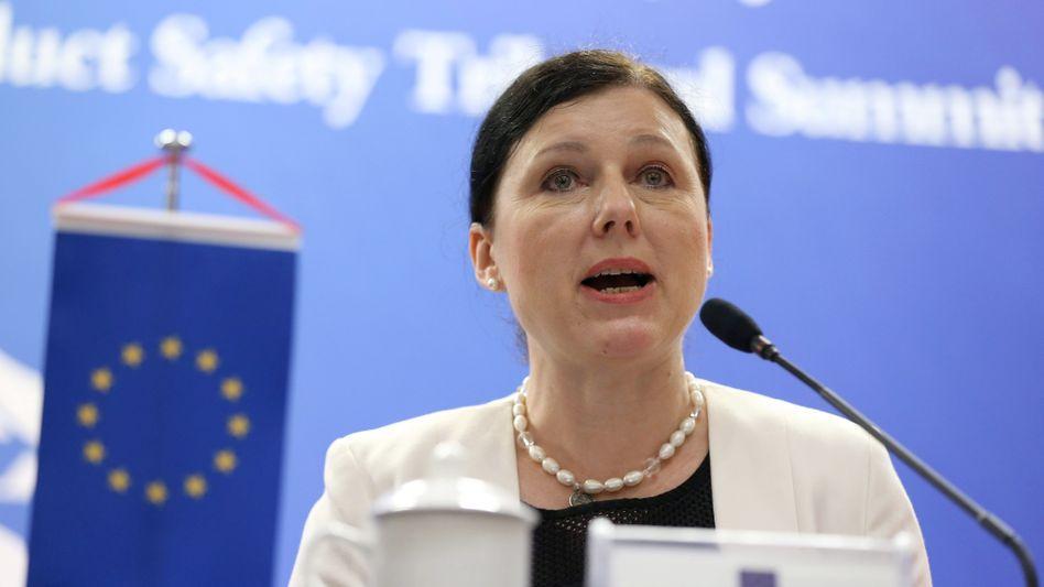 Vera Jourová, EU-Kommissarin für Verbraucher