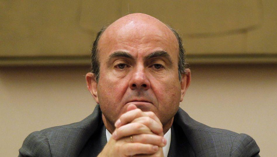 Spaniens Wirtschaftsminister Luis de Guindos: Rettungspaket von 300 Milliarden