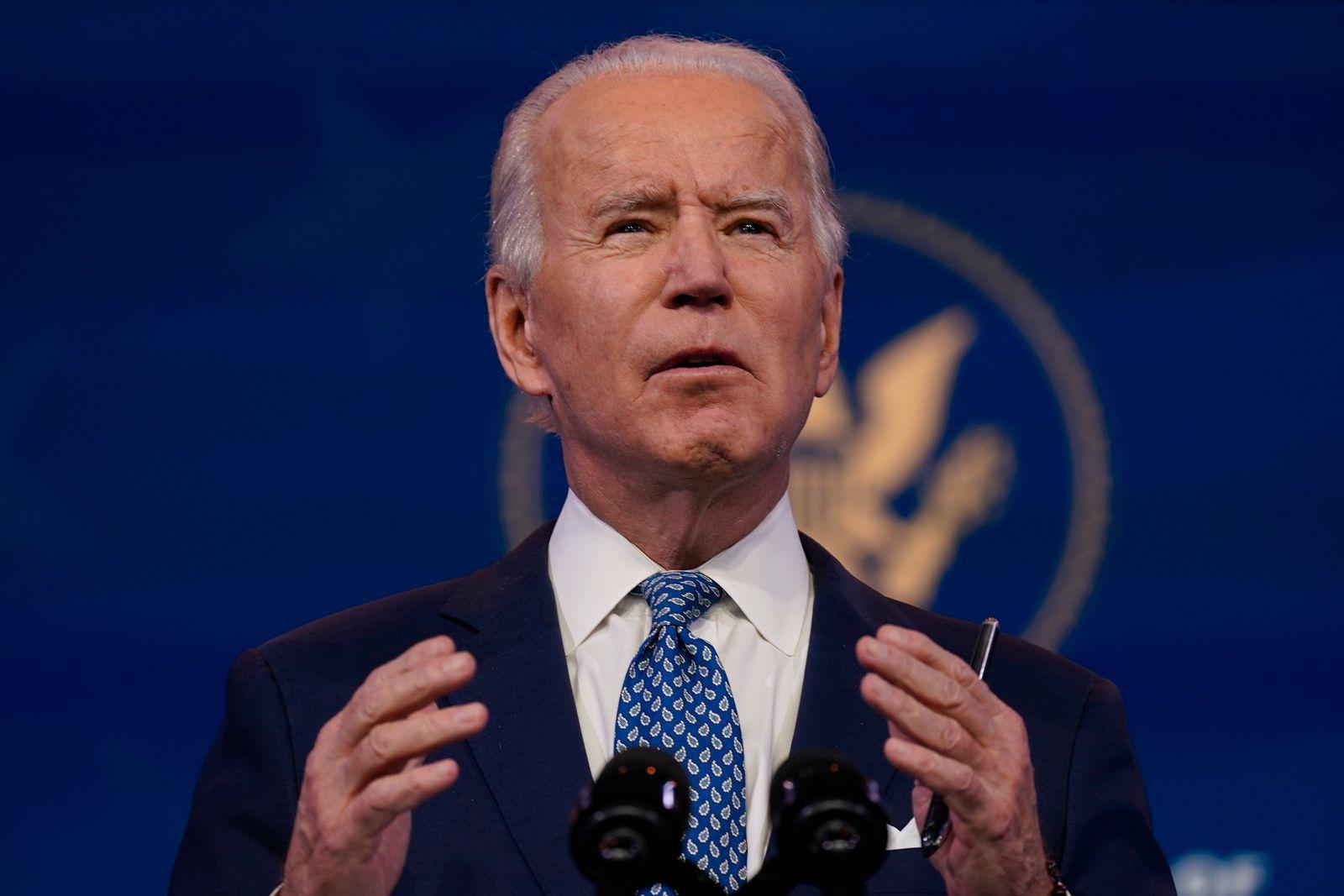 Gewählter US-Präsident Biden