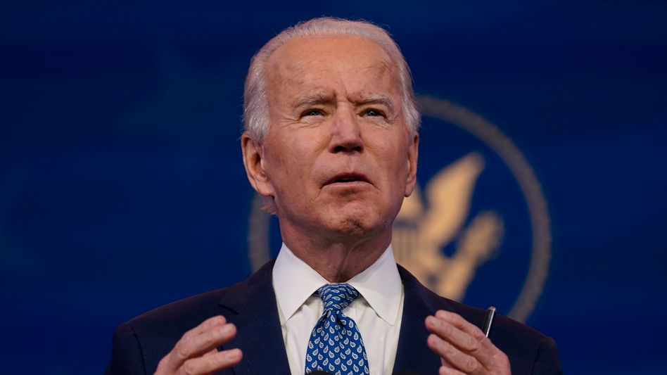 Der designierte US-Präsident Joe Biden sprach an das amerikanische Volk