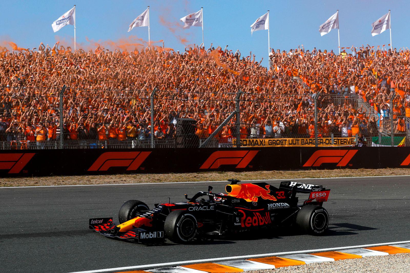 Formel 20 Pressestimmen »Verstappens ›Orange Army‹ sorgte für ein ...