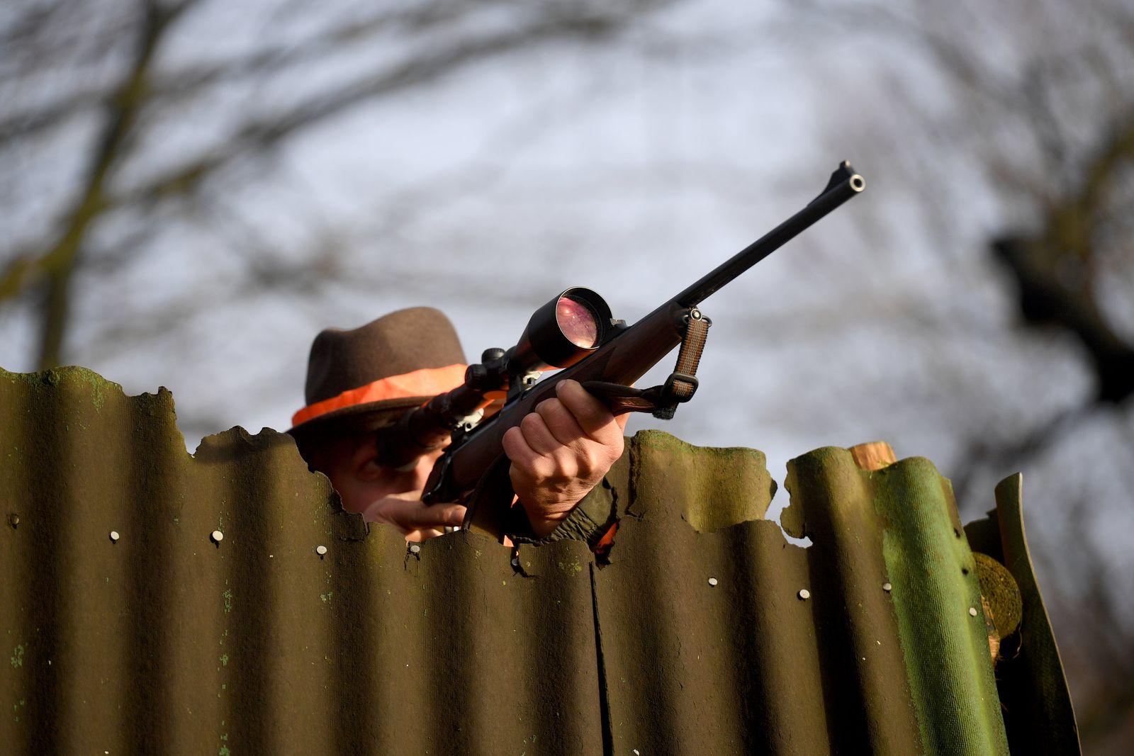 Jagdsaison ist im Norden in vollem Gang