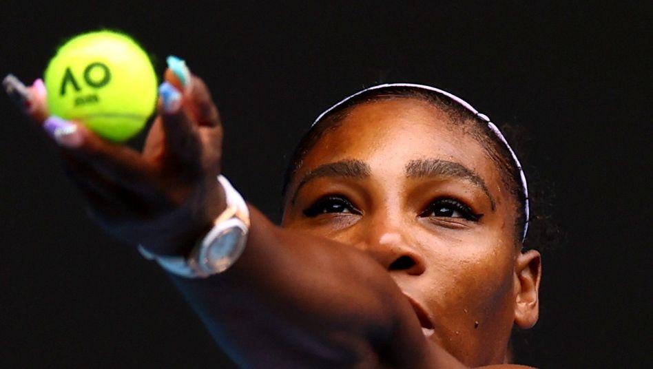 """""""Wir haben eine Stimme"""": Serena Williams"""