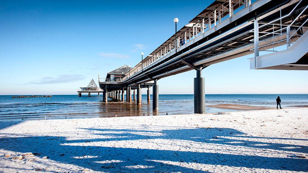 Insel in Weiß: Winterreiseziel Usedom