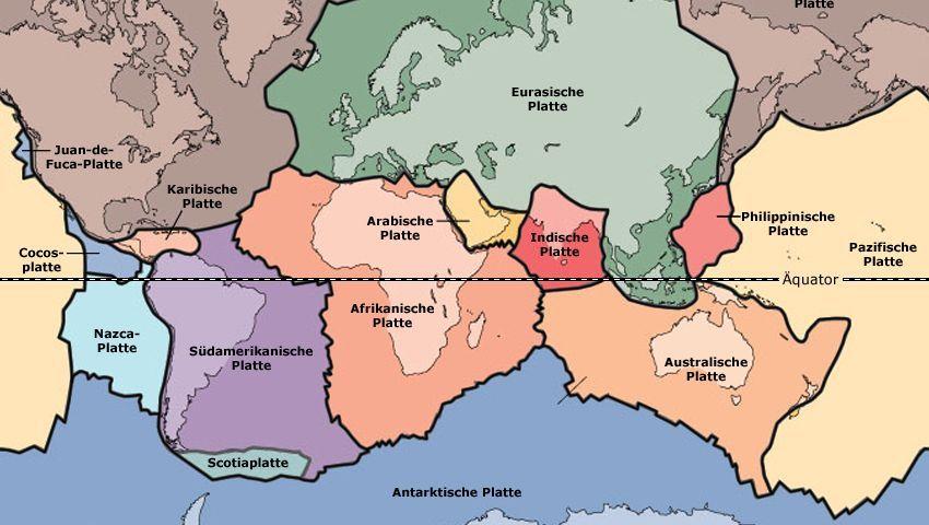 Ozeanische Platte