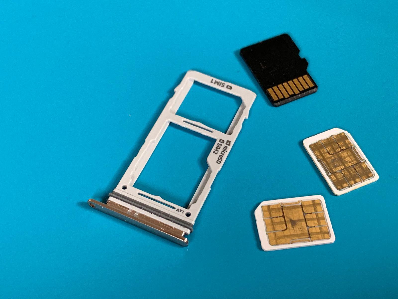 EINMALIGE VERWENDUNG Samsung Galaxy S10/ SIM-Karten