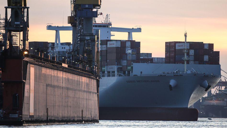 Container-Frachter: Verzicht auf Millionen zugunsten der Umwelt