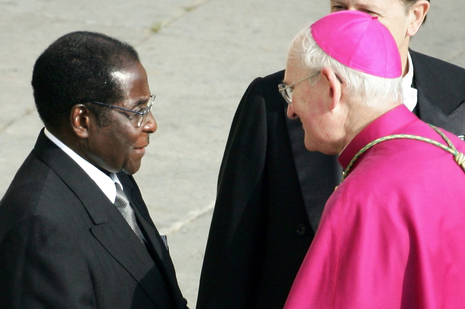Papst Johannes Paul 2. / Seeligsprechung / Mugabe