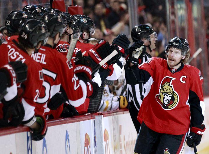 Eishockeyprofi Alfredsson (r.): Kapitän der Ottawa Senators