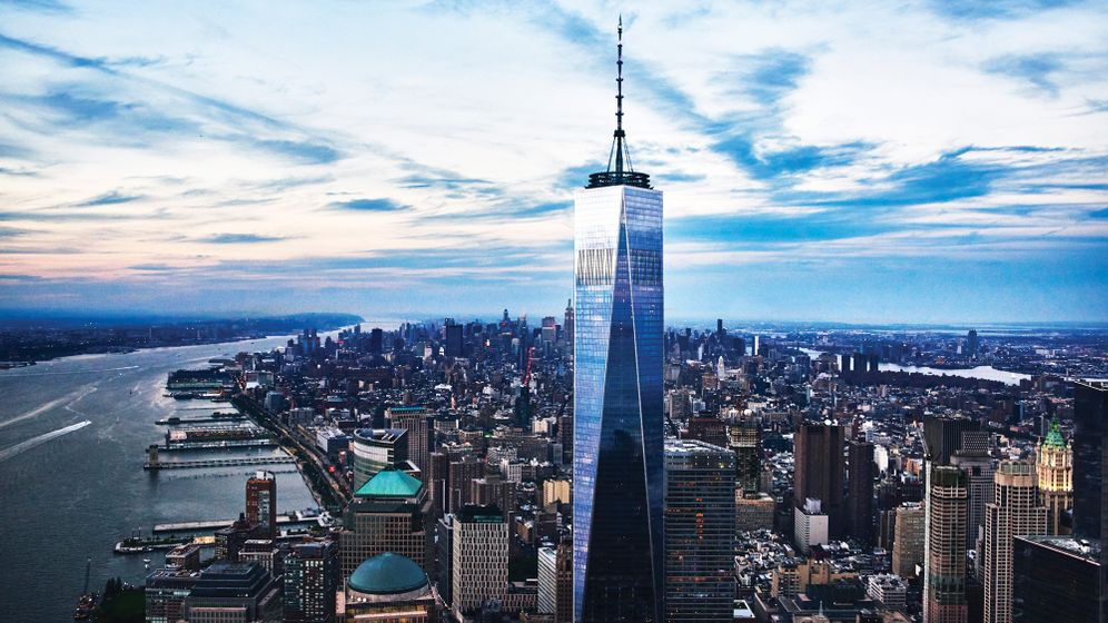 One World Trade Center: Aussicht aus dem 100. Stock