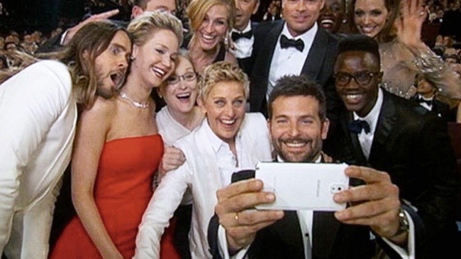 Schauspieler bei der Oscar-Feier