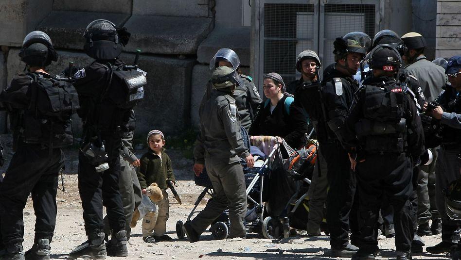 Räumung in Hebron: Überraschende Aktion