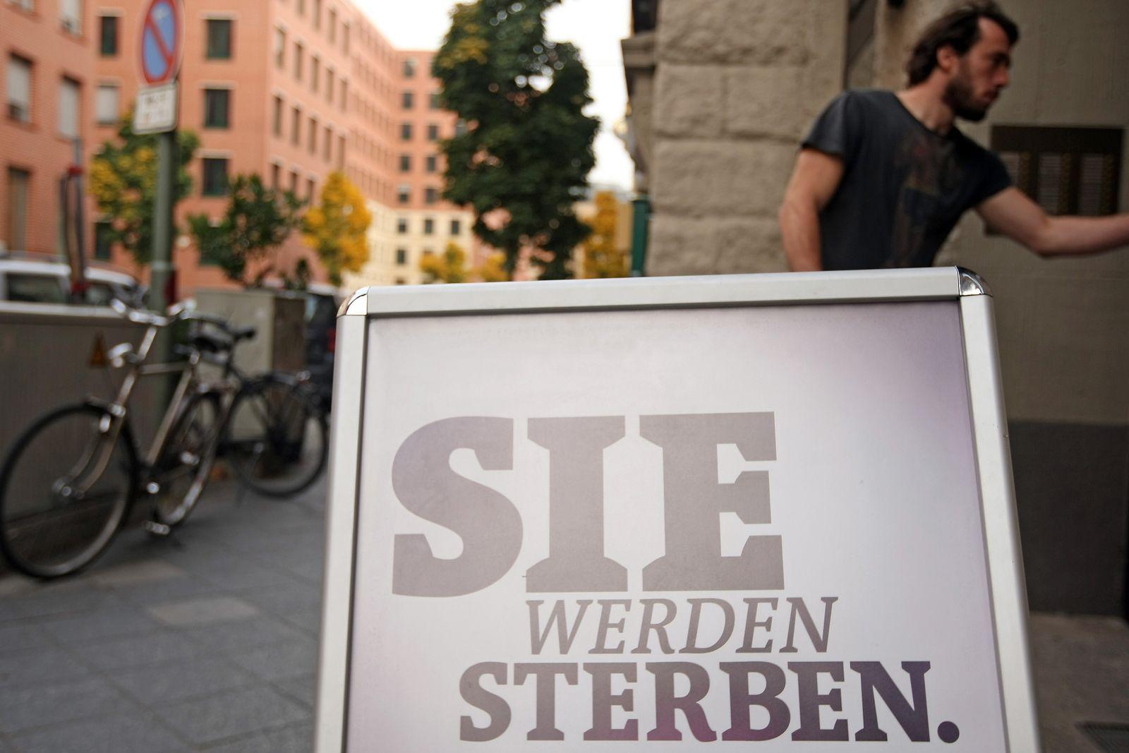 """NICHT VERWENDEN ARD-Themenwoche """"Leben mit dem Tod"""" / Sie werden sterben"""