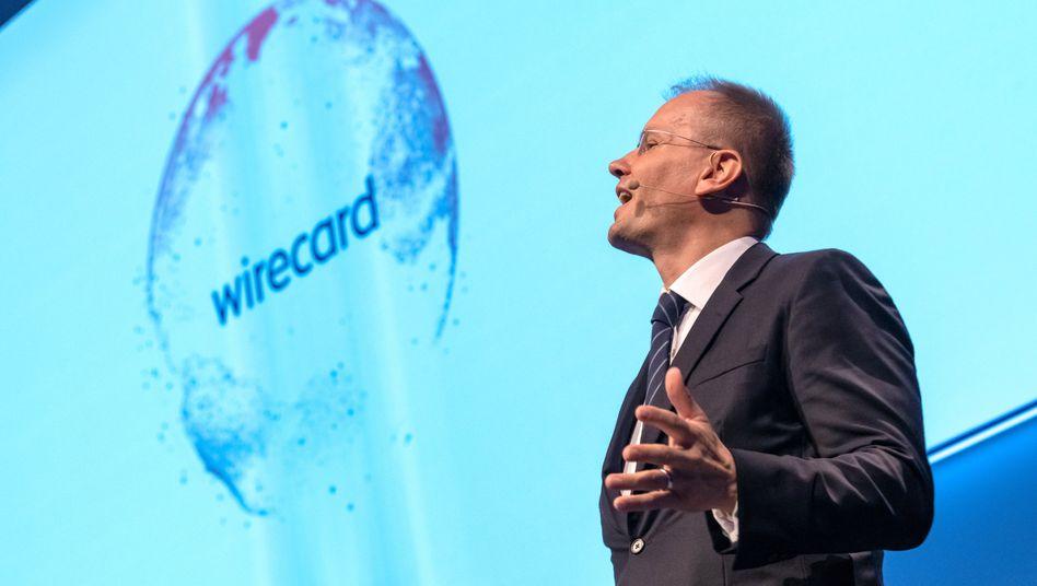 Wirecard-Chef Braun (Archivbild): Das Unternehmen baut seinen Vorstand um