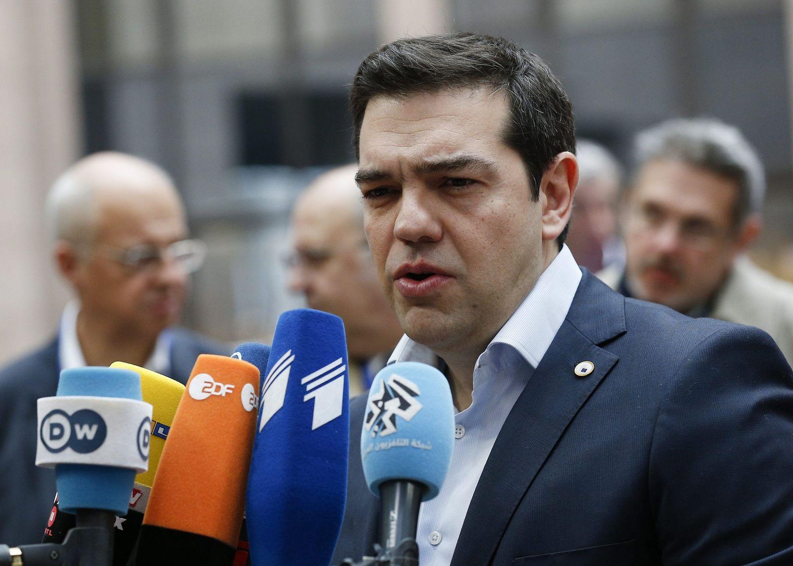 Tsipras / Brüssel