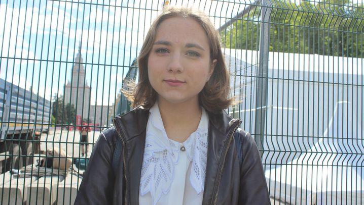 """Studenten und die Fanzone in Moskau: """"Wir wurden belogen"""""""