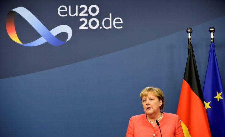 """Kanzlerin Angela Merkel beim EU-Gipfel: Sanktionen gegen Belarus """"überfällig"""""""