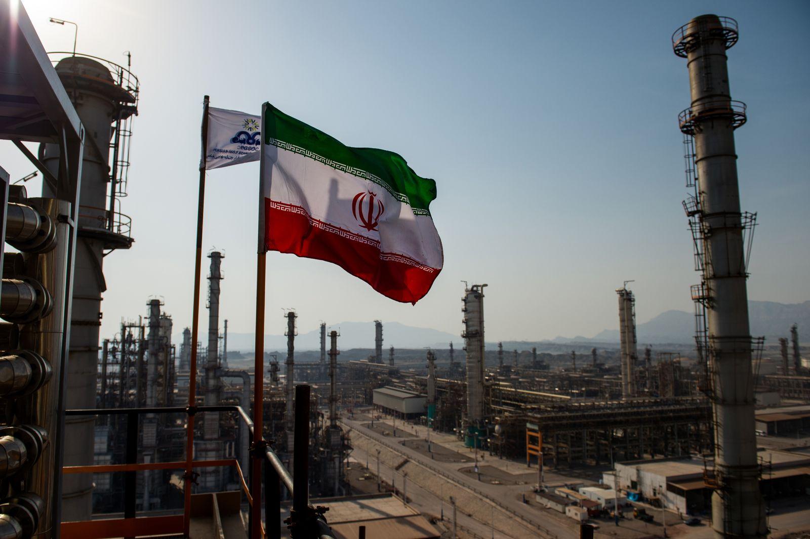 EINMALIGE VERWENDUNG IRAN Öl Persian Gulf Star