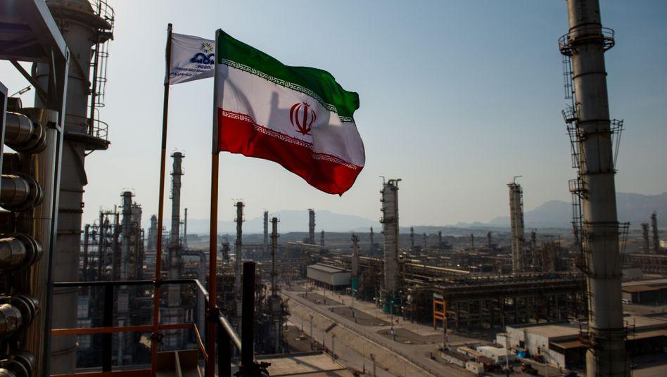 Raffinerie in Bandar Abbas, Iran